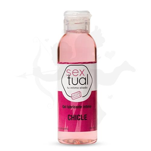 Gel lubricante sabor chicle 80ml